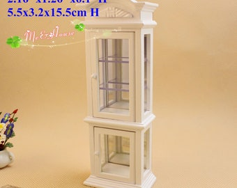 1/12 Scale Dollhouse Miniatures Living Room Furniture Nick-knack Cabinet
