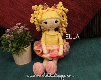ELLA DOLL - Crochet Doll Pattern
