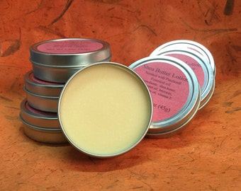 Shea Butter Patchouli Scented Lotion Tin