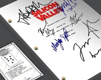 Silicon Valley TV Pilot Episode TV Script Screenplay - Signed Autograph Reprint - Thomas Middleditch, TJ Miller, Martin Starr, Amanda Crew