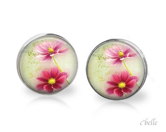 Ear studs of pastellener cherry blossom 4