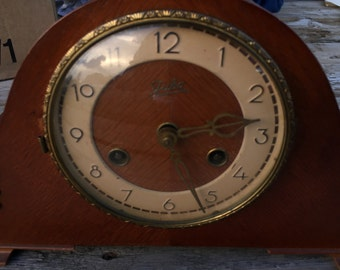 Vintage German-made Juba Mantel Clock