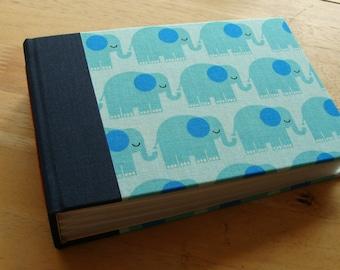 Baby Photo Album/ Blue Elephants Small Album
