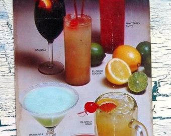 BTS El Chico Bar Guide 1971 bright colors