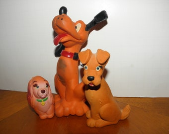 Disney Lanco Squeak Toys