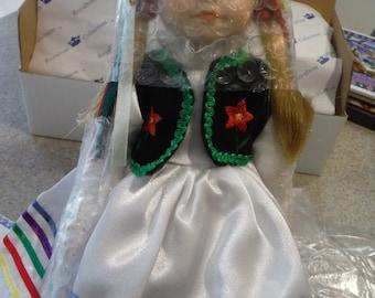 Royalton Collection Wanda Polish Collector Doll  1990's