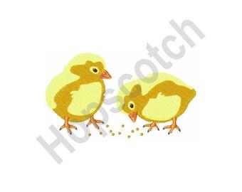 Baby Chicks - Machine Embroidery Design