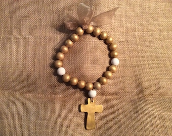 Gold Blessing Beads