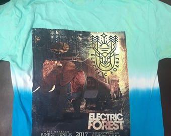 Electric Forest Large Tye Dye 2017