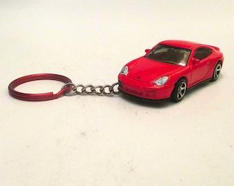 Porsche 911 turbo keychain, Sports car keychain,schluesselanhaenger, Mens or Womens keychain, Mens or Womens gift