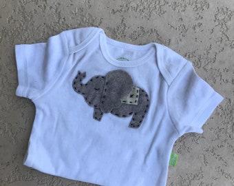 Ellie the Elephant Baby Onesie