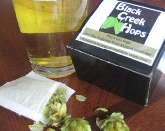 Nugget Hops tea bags for beer