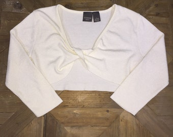 Pearl Wrap Front Crop