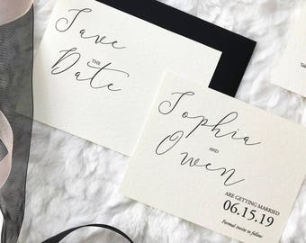 Save the Dates, The Sophia Collection