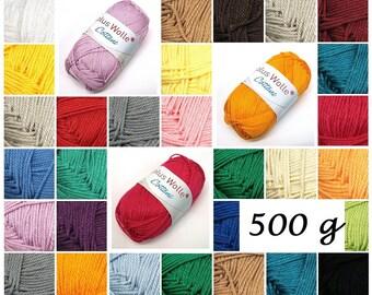 500 g Cottani (46,00EUR/kg) of plus wool cotton Babywolle