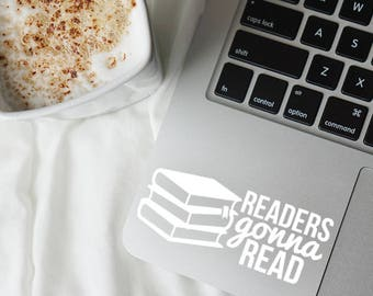 Readers gonna, Read decal, Book decal, Book sticker, Book lover gift, Reading decal, Kindle decal, Readers decal, Book car decal, Book
