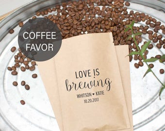 Wedding Shower Favors-Coffee Wedding Favors-Rustic Wedding Favors-Love Is Brewing-The Perfect Blend-Wedding Favors Coffee-Barn Wedding