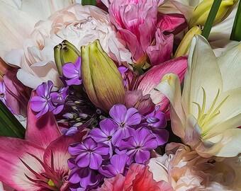 Summer Bouquet, Flower Image, Garden Art, Garden Photos, Flower Art,