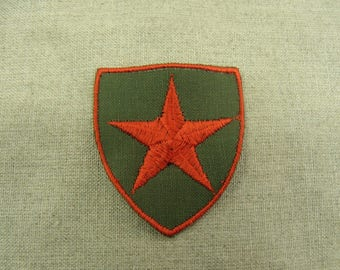coat-military sewing - red star pattern