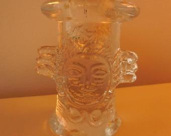 Scandinavian Face Candle Holder
