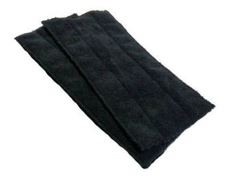 Swiffer Wet Jet Pads- Set of 2- BLACK- Microfiber- Refill- Reusable- Ecofriendly