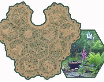 KATHYS GARDEN Lace Shawl Pattern