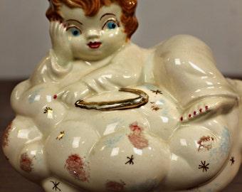 Vintage Porcelain Angel Bank