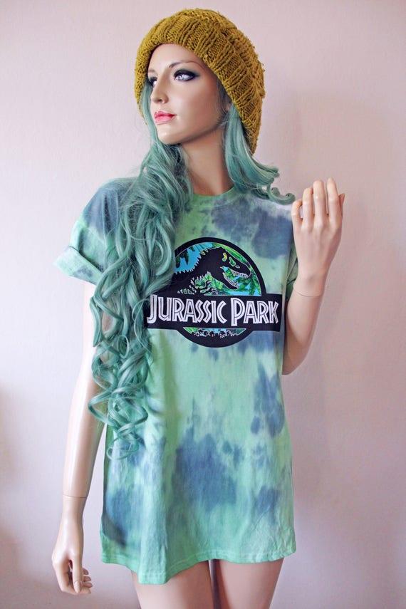 Jurassic Tie Dye T-Shirt hipster tumblr cute gift