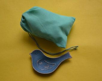 "100 Pcs 5"" x 7"" GREEN Single Drawstring Bag - Muslin Bag - Premium Fabric Bags"