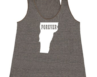 Vermont Forever Tank Top. Women's Tri Blend Racerback Tank Top SEEMBO