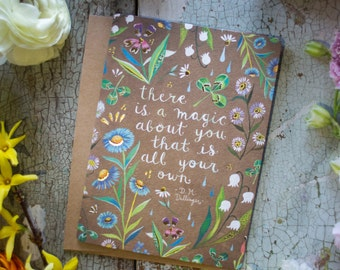 Magic About You - Gold Foil Greeting Card