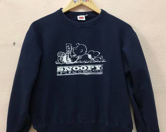 Rare!!.. Snoopy & Friend Cartoon Sweatshirt Sweater / Small Size