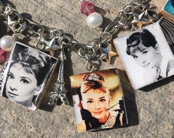 Audrey Hepburn, I Believe in Pink, Breakfast at Tiffanys, Audrey Hepburn jewelry,