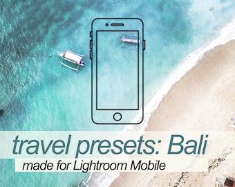 BALI PRESET PACK | lightroom mobile presets