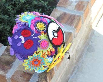 Pokemon Felt Embroidered Bouquet