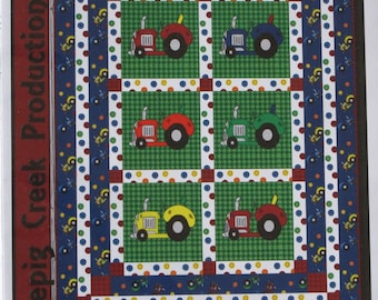 Whistlepig  Creek Productions Tractor Races Quilt Kit