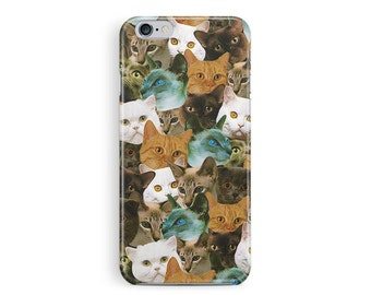 iPhone 6 Case Vintage, iPhone 6S Case, Cat iPhone 6S Case, Cat Phone Case, Cat Lover Gift, Kitten iPhone 6S Case, Cute iPhone Case, Kawaii