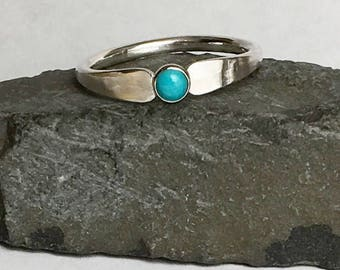 Turquoise Ring Natural Sleeping Beauty