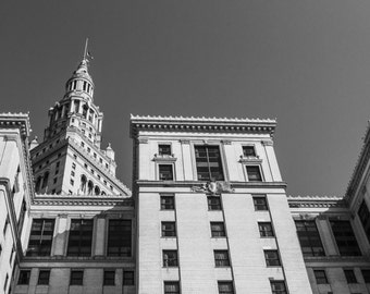 Terminal Tower, Cleveland, Ohio // Fine Art Photography // Giclée Print