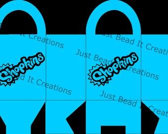 Shopkin Inspired Bag Die Cut File
