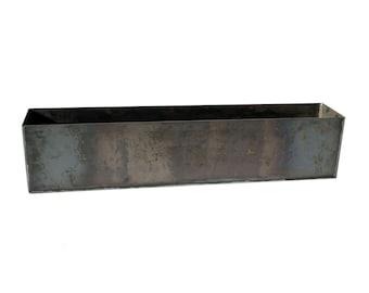 Modern Steel Planter Box – Heavy Duty Metal