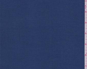 Deep Sea Blue Linen, Fabric By The Yard