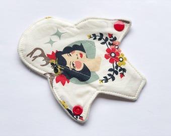 """6""""Merino Wool Interlock Thong Pantyliner / Birch Organic"""