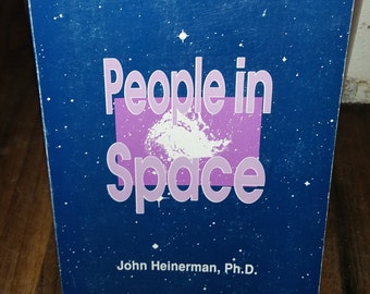 People In Space by John Heinerman Vintage Paperback Book