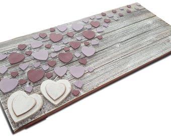 Custom Handmade Wedding Guest Book Alternative