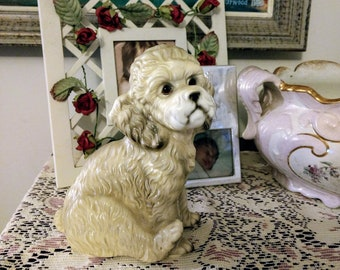 Vintage Mid Century Dog Figurine Poodle made in Japan