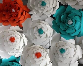 Cut Paper Flowers - fine art photography - 11x14-print - wall art