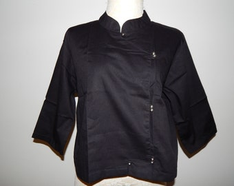 50% On May Black Chinese Cotton Top Blouse Bust 40