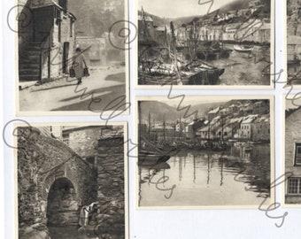 Vintage photographs UK fishing village Part A