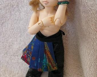 LTF/YOSD Blue Multi color 1/2 Skirt CLEARANCE Price